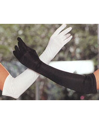 Long Tricot Gloves