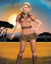 dreamgirl on the hunt costume