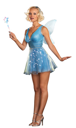 dreamgirl true blue fairy costume