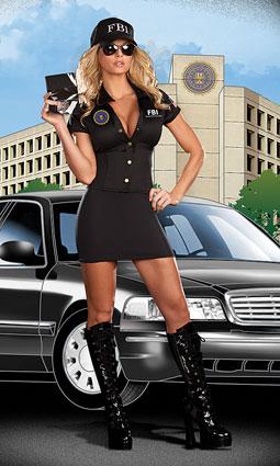 dreamgirl fbi agent costume