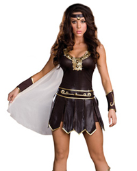 Dreamgirl Babe-a-Lonian Warrior Queen Costume