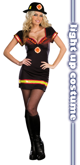 dreamgirl light my fire costume