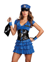Dreamgirl Late Night Patrol Officer Costume