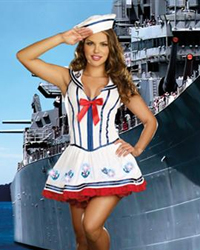 Dreamgirl Anchor Management Costume