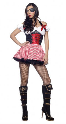leg avenue sexy Pirate Wench Costume