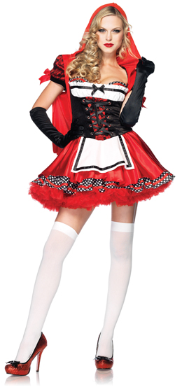 Leg Avenue Divine Miss Red Costume