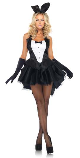 leg avenue tux and tails bunny costume