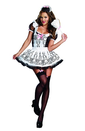 Costume-French-Maid-To-Order-8211