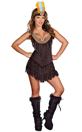 dreamgirl reservation royalty sexy native american costume