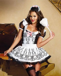 Dreamgirl French Maid to Order Costume