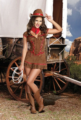dreamgirl giddy up western costume