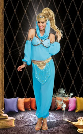 Dreamgirl genie in a bottle costume 9490