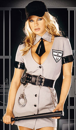 dreamgirl corrections officer costume