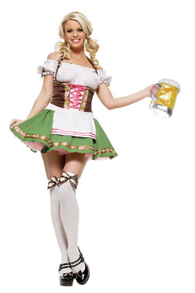 gretchen beer girl costume leg avenue