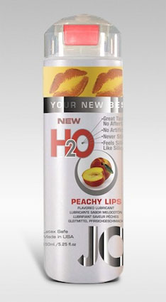 JO H2O Flavored Peachy Lips Lubricant