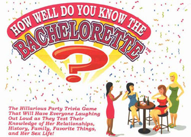How Well Do You Know The Bride Party Game
