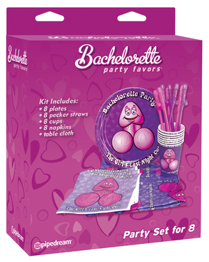 bachelorette party favors 8 piece party set