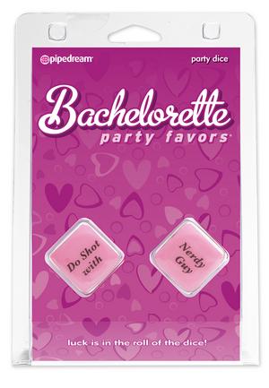 bachelorette party favors party dice