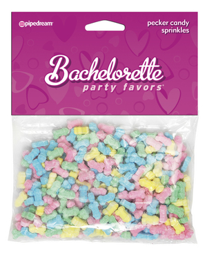 bachelorette party favors penis sprinkles
