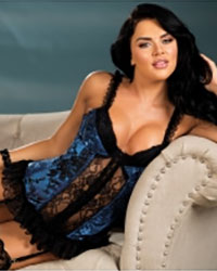 Shirley of Hollywood Tapestry and Lace Long Line Corset