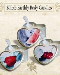 edible earthly body candles