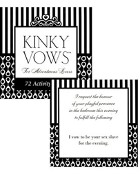 kinky vows for the adventurous lovers